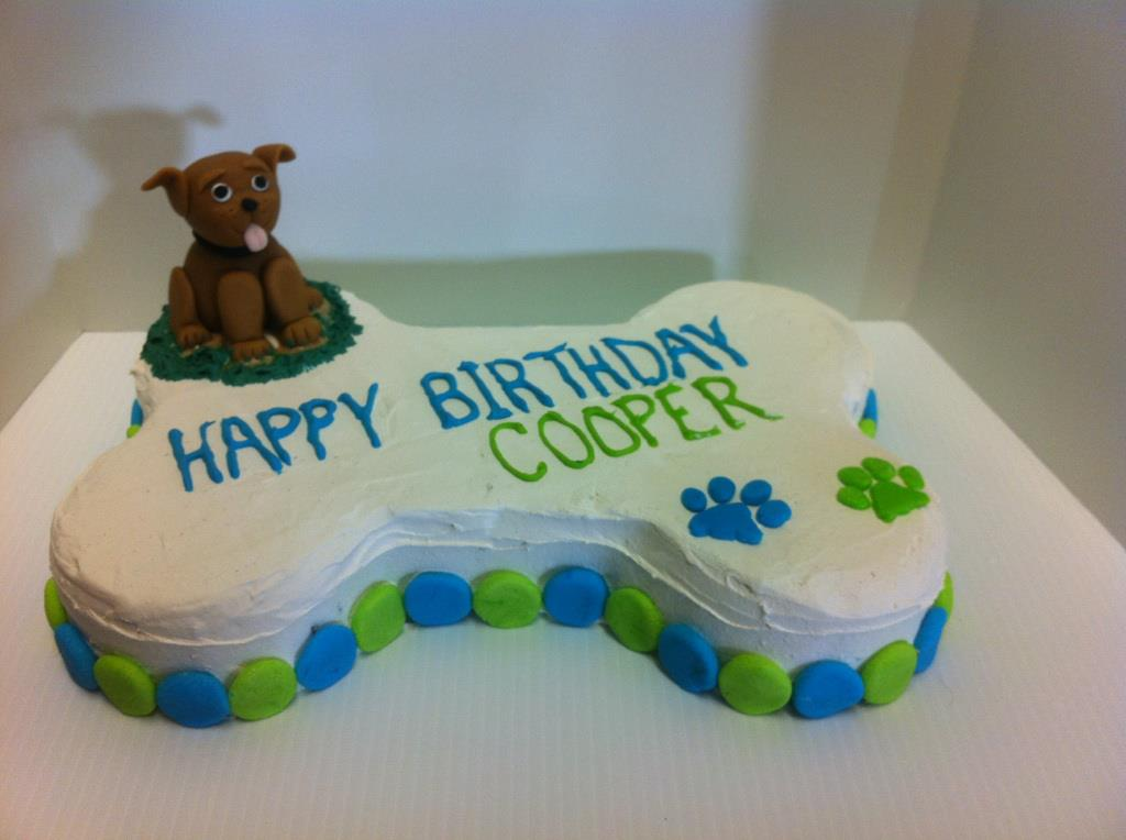 Dog Cake Decorating Ideas