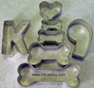 dog treat cookie cutters