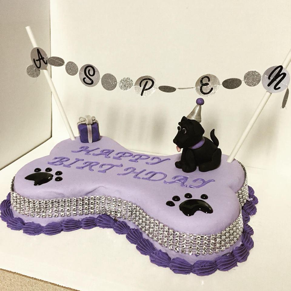 dog cake icing