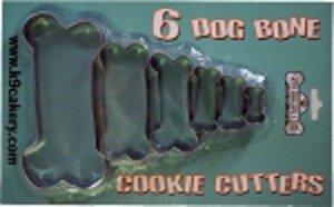 Dog bone cookie cutters