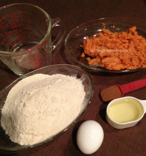 Sweet potato cake for dogs ingredients