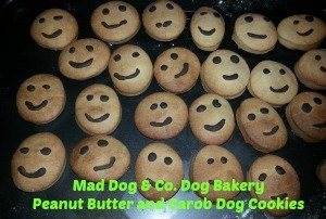 peanut butter dog cookies